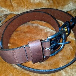 Men's Carolina leather belt